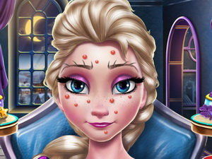 Elsa New Year Makeup